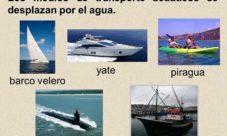 Medios de transporte marítimo (acuático)
