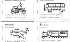Actividades de medios de transporte para niños